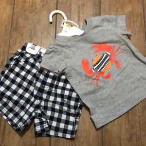 Little Me Toddler Boy set - Size 12M